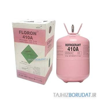 گاز مبرد فلورن R410a